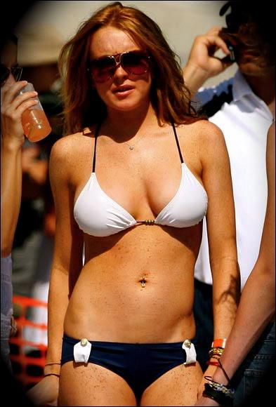 Jessica simpson dukes of hazzard pink bikini - 3 part 3