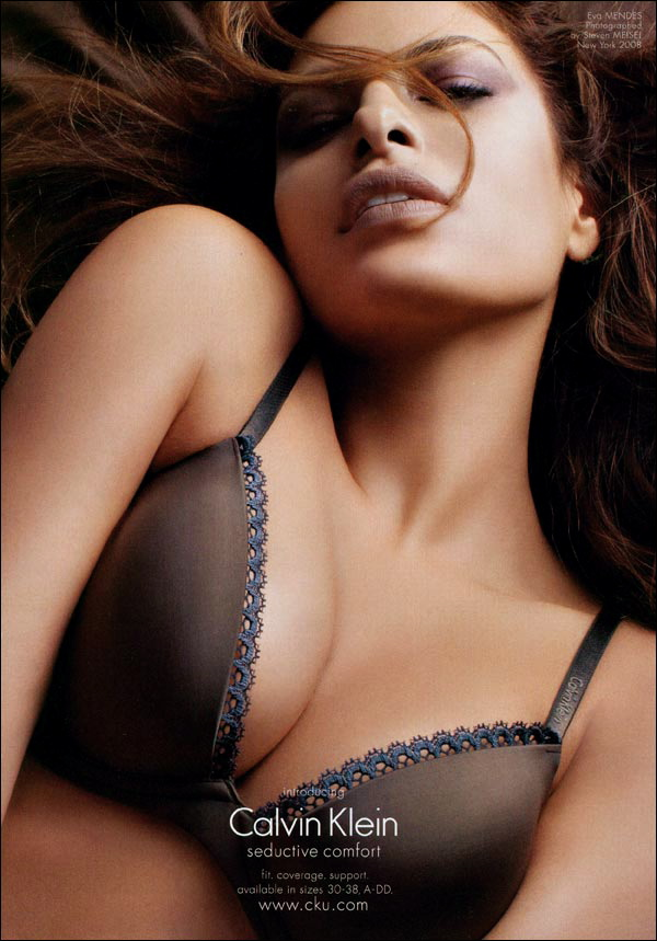 Eva Mendes Does A New Ad For Calvin Klein Cleavage, I Mean Bras  22Mooncom-7211