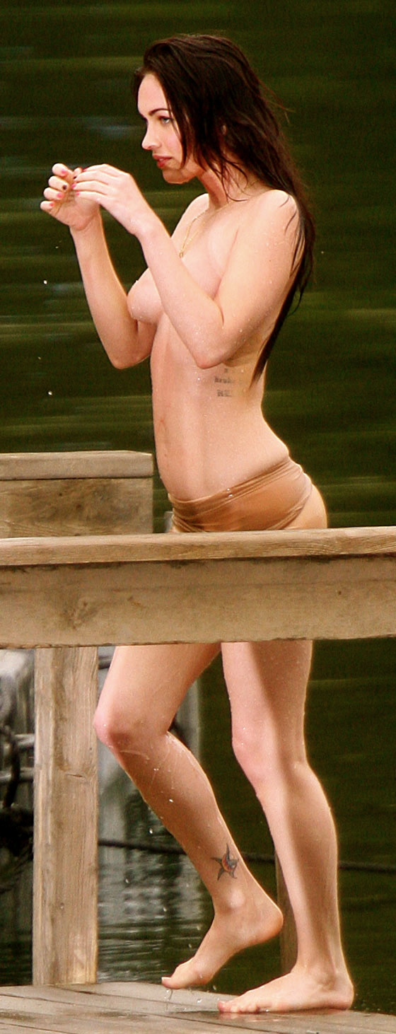 megan fox topless photo