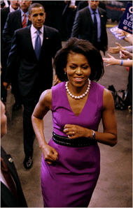 michelle_obama_in_sheath_dress_blueflys_blog_flypaper