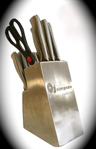 oj simpson sells knife