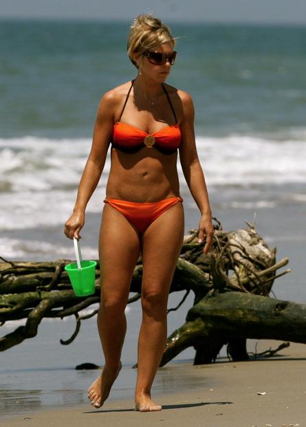 Kate gosselin yellow bikini think