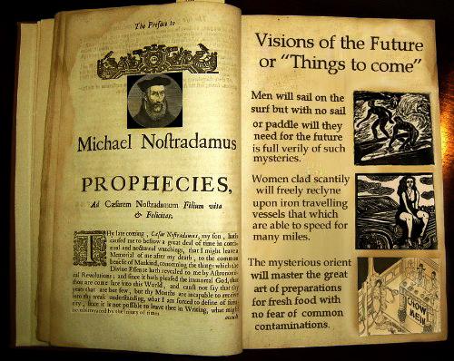 Nostradamus Predictions 2013