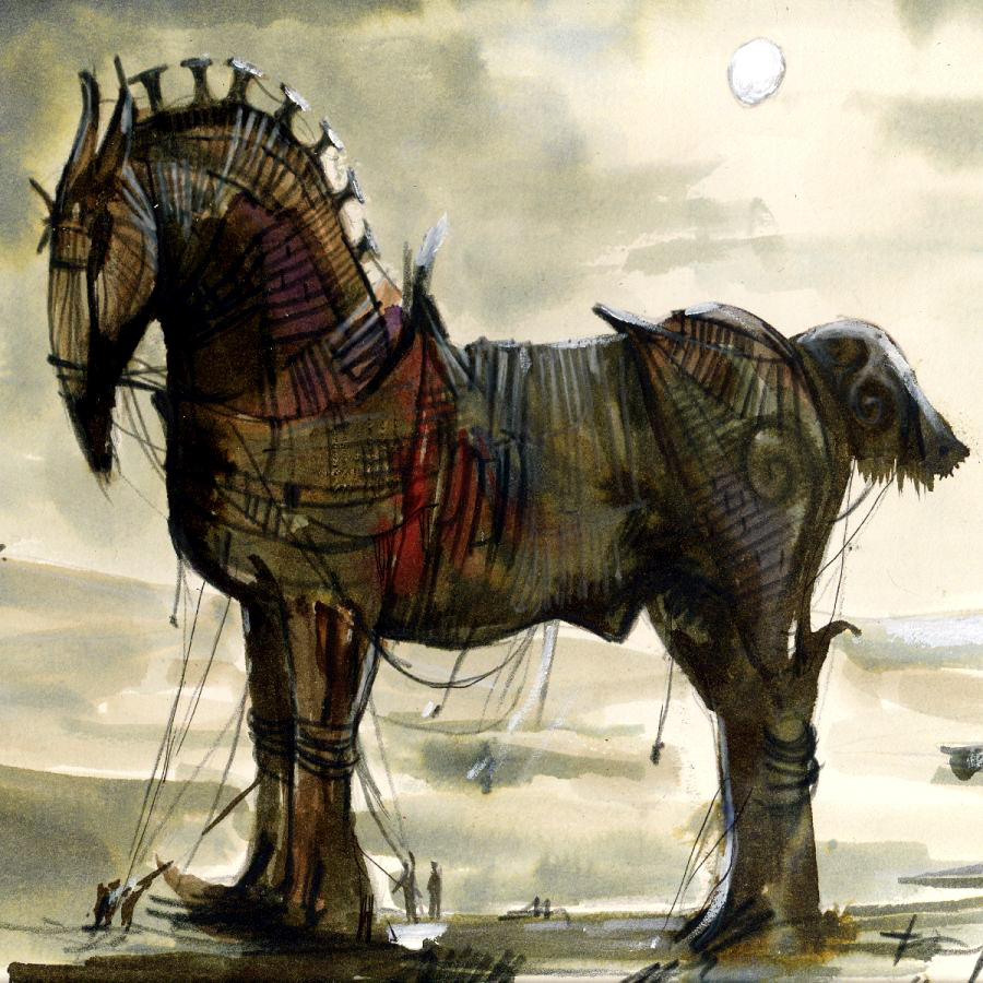 account of the trojan war The story comes from an ancient greek poem, one of the oldest and greatest in   if the war took place then maybe the ancient story of the trojan horse had.