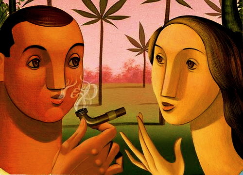 funny cartoon characters smoking weed. funny cartoon characters