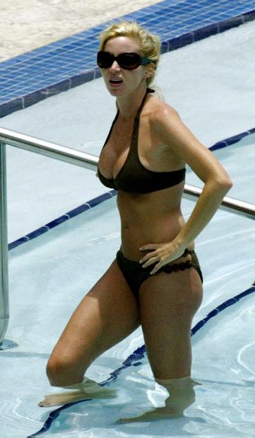 Sorry, real housewives camille grammer bikini