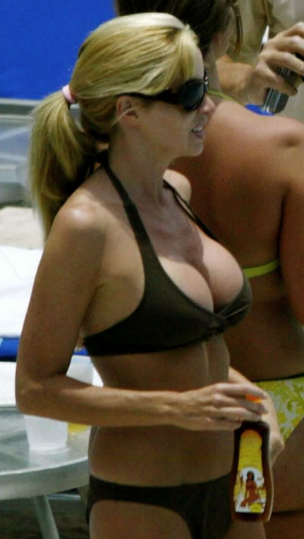 Real housewives camille grammer bikini any
