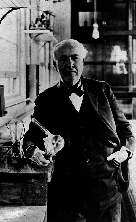 thomas edison and invention light bulb Nikola tesla was a brilliant but eccentric genius, and thomas edison was the iconic innovator who designed the lightbulb so, who was the better inventor.