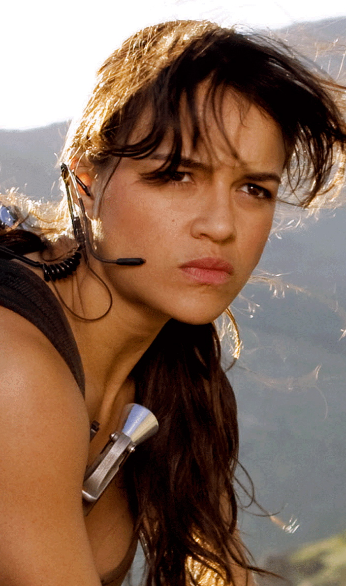 Michelle Rodriguez Sexy Muscles In Motion Pictures -1475