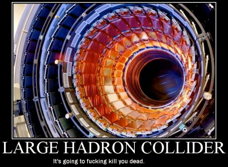 "The Large Hadron Collider the ""Venti"" of colliders that ..."