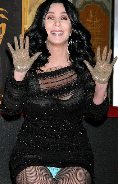 Cher wardrobe malfunction