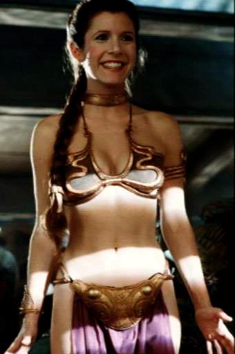 Princess leia gold bikini picture matchless