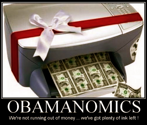 obama printing more money
