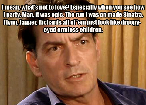 funny charlie sheen quotes. #Charlie sheen #quote #funny