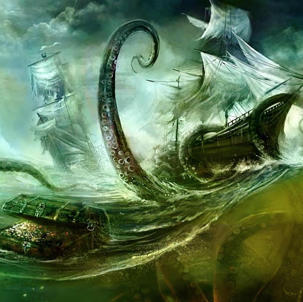 poseidon vs the kraken - photo #20