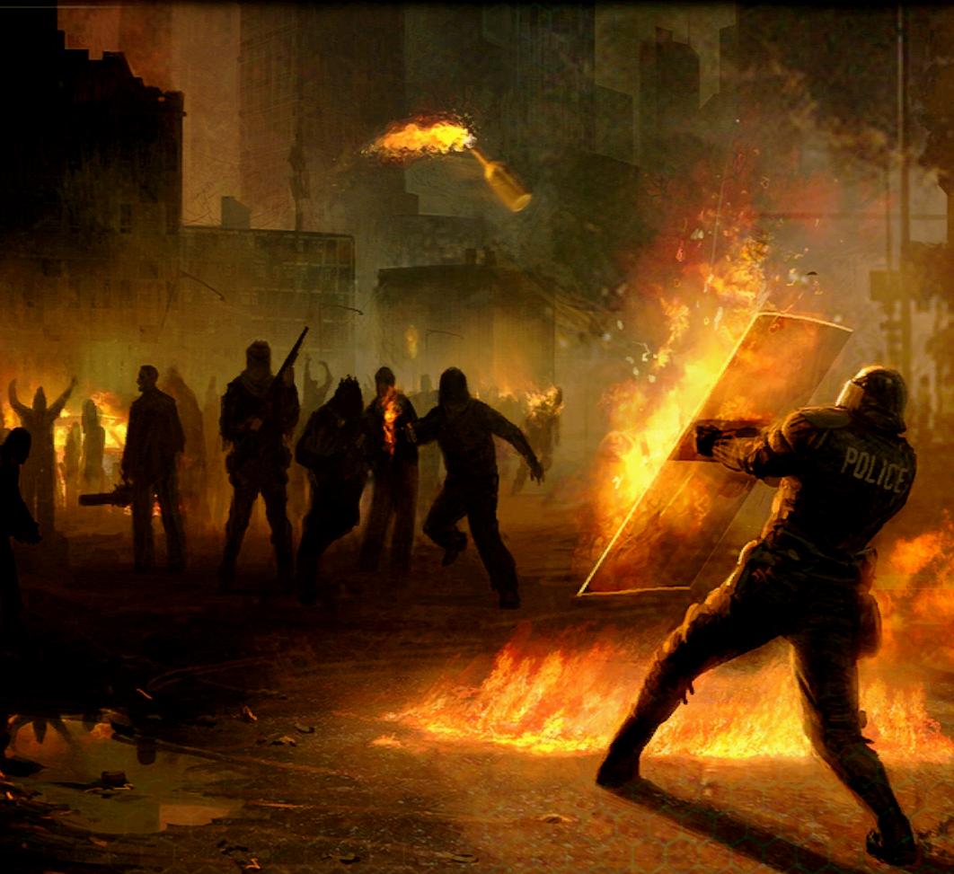 [Year of Evil] La chute de Coast City [LIBRE] 1305820574-riot-police-shield-molotov-cocktail-wallpaper-jpg
