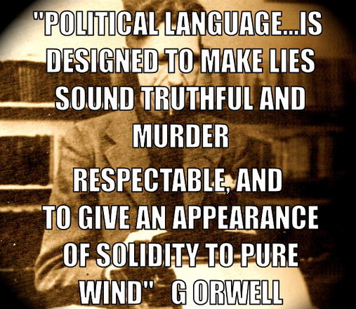 Racism and orwell
