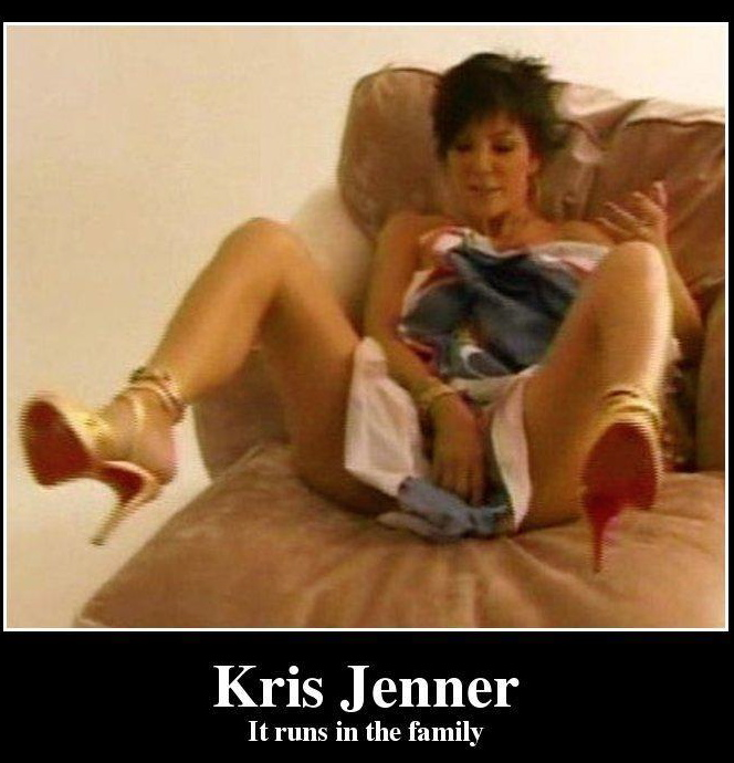 Are Kris jenner hot nude abstract