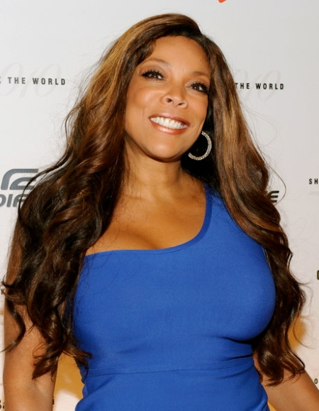 Wendy Williams lors de la campagne Id Rather Go Naked