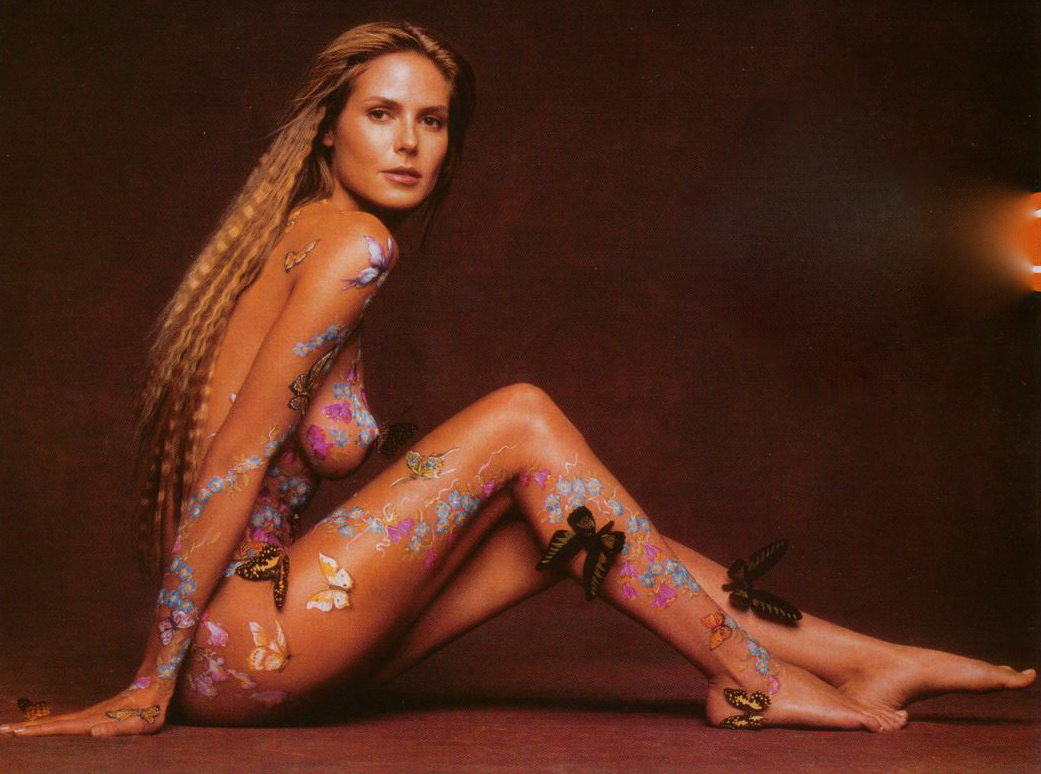 shemale body paint