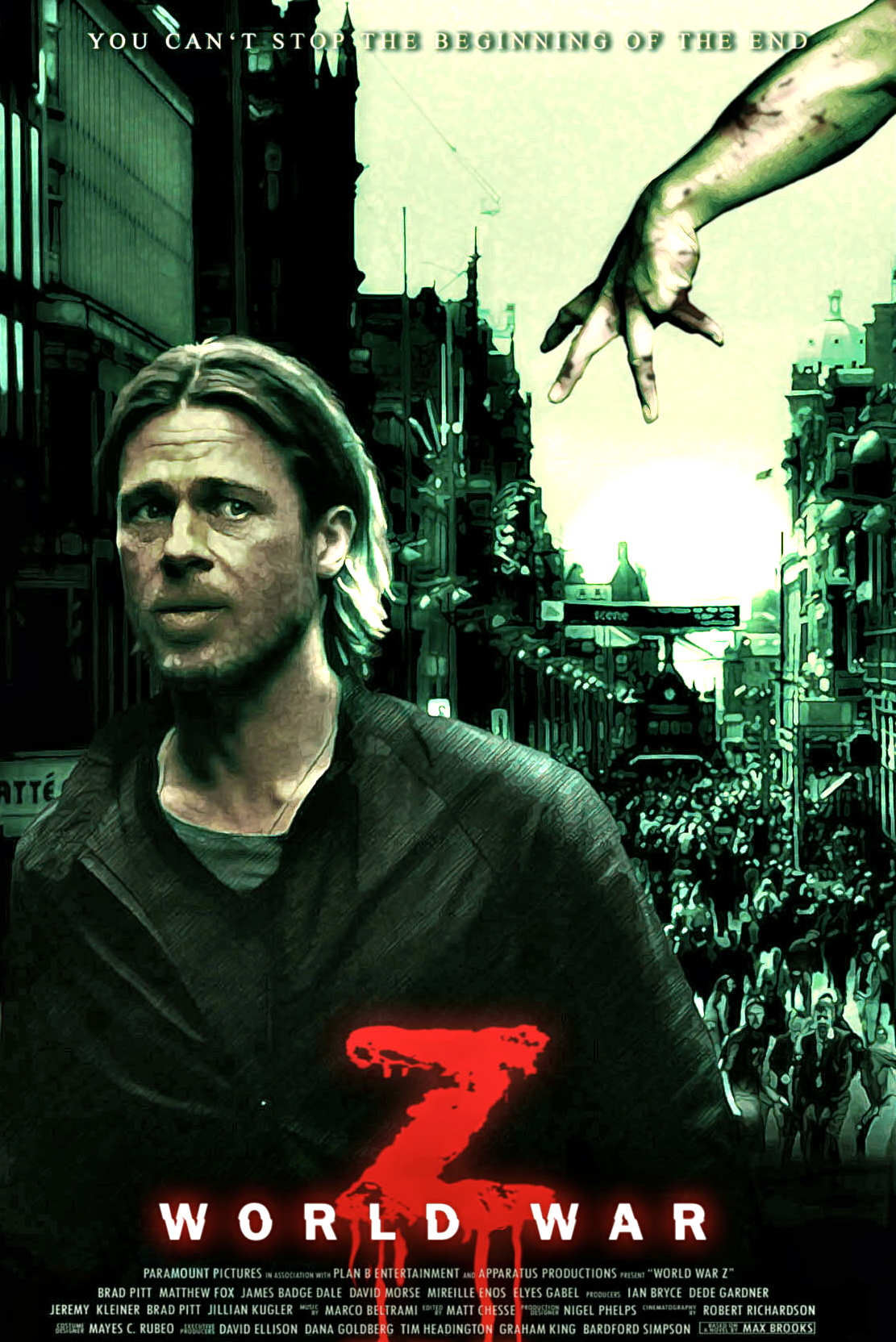 World War Z Movie Based On A Future True Story