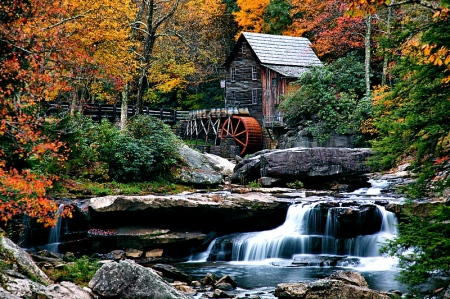 800px-Autumn-grist-mill-west-virginia-waterfalls1_-_West_Virginia_-_ForestWander