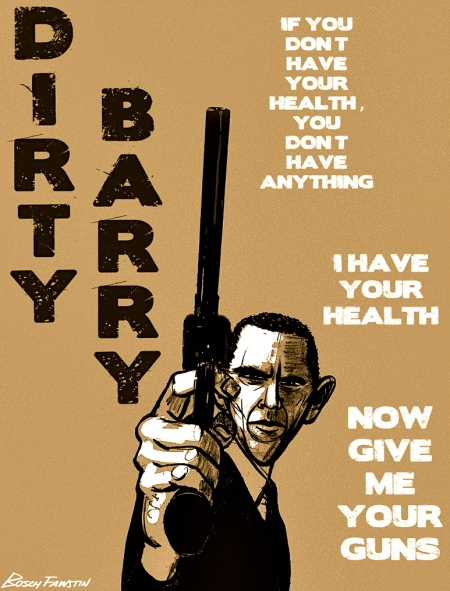 Dirty Barry wants your guns 4 blog