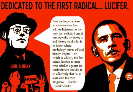 SAUL ALINSKY OBAMA LUCIFER