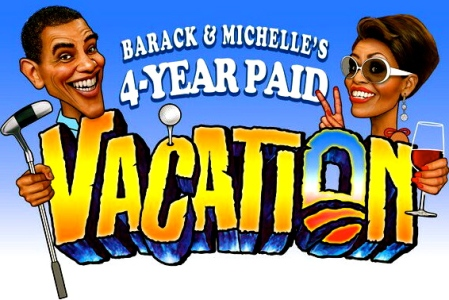 Michelle Obam paid vacations