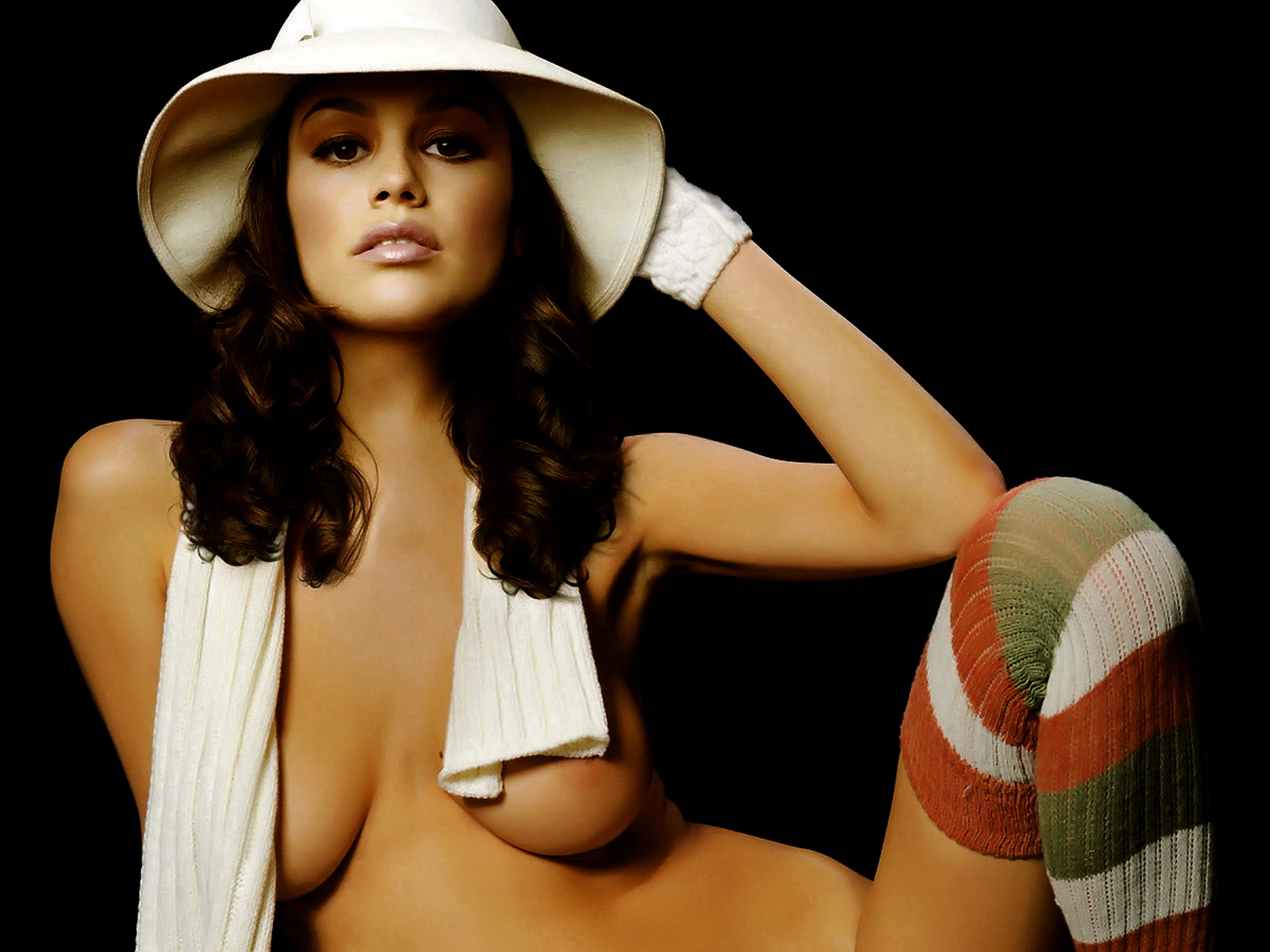 Rachel Bilson nude in Maxim photo shoot big boobs trimmed pussy beauty ...