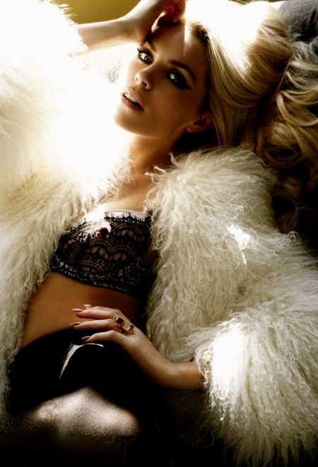 Celebrity hot Photoshoots Abigail Clancy -Cosmopolitan UK magazine January 2012