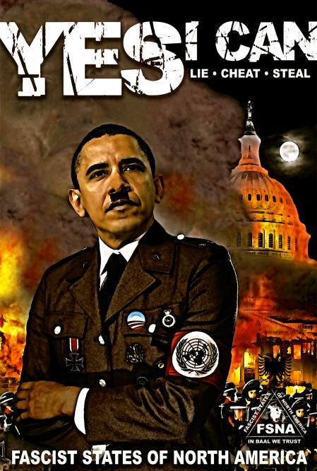 Obama Hitler
