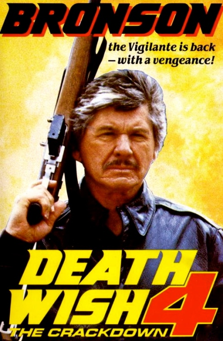 Death Wish 4 The Crackdown (1987) [UK VHS]