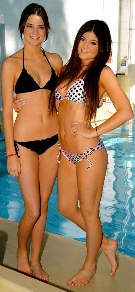 Kendall and Kylie Jenner - Bikini