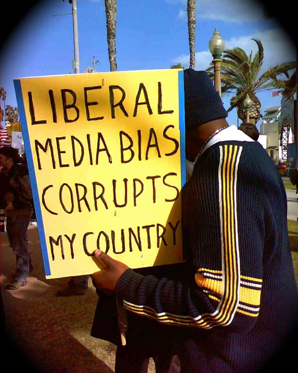 a look at the liberal media bias John stossel looks back at liberal media bias at abc walter williams says—it's a great line—that the best way to make a city look like it's been bombed is.