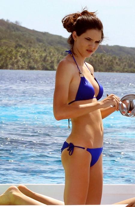 Kendall Jenner - Bikini -Bora Bora -