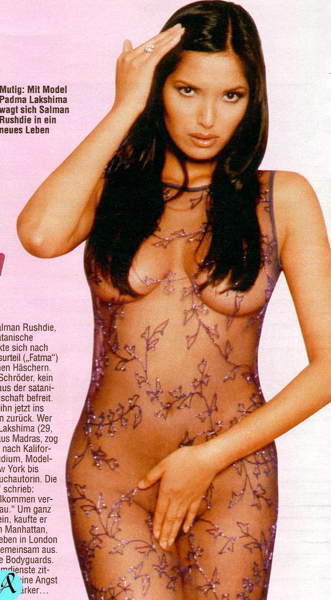 The reality Nude photos of padma lakshmi control Lingerie