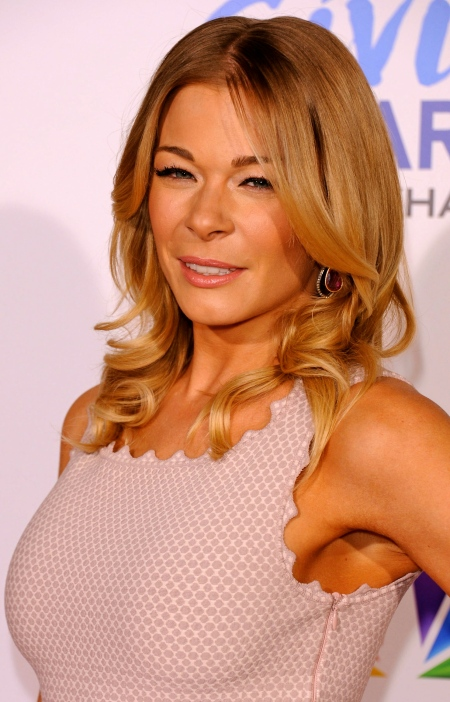LeAnn Rimes at 2011 American Giving Awards in Los Angeles