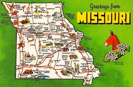 Missouri Postcards for Trade 005