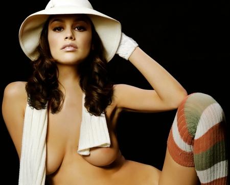 Rachel Bilson nude in Maxim photo shoot big boobs trimmed pussy beauty body