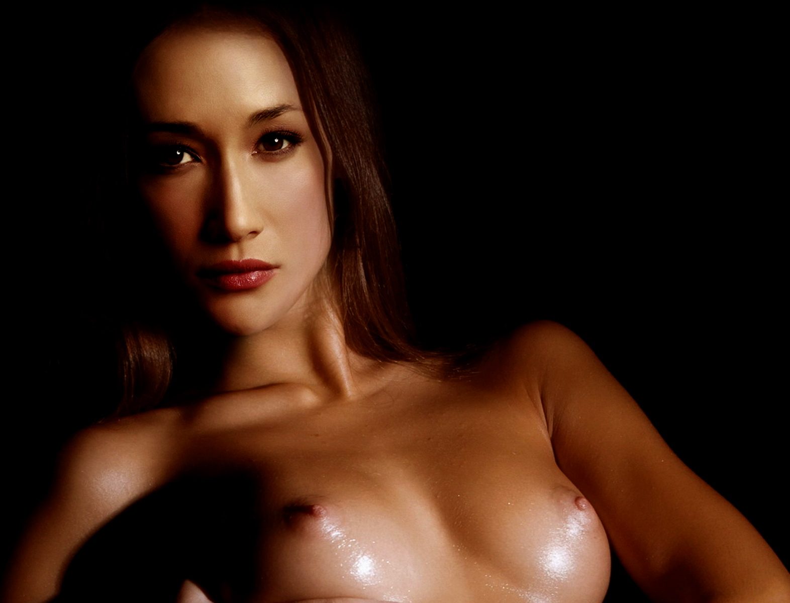 Naked Pictures Of Maggie Q
