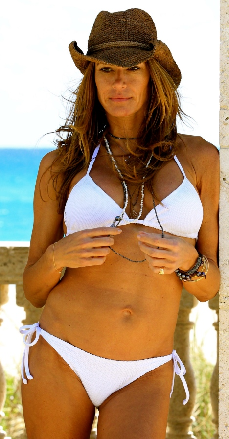 KELLY BENSIMON in Bikini at a Photoshoot in West Palm Beach