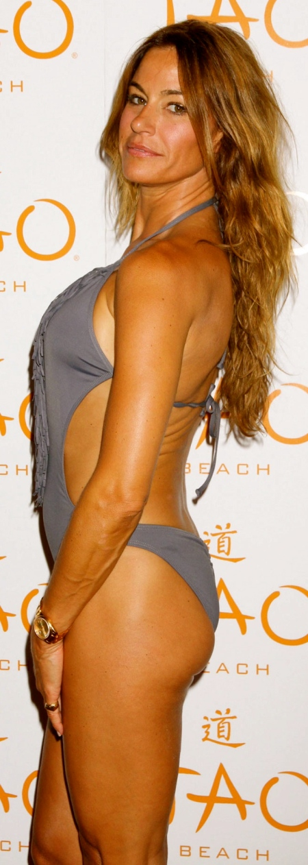 KELLY BENSIMON in Swimsuit Promotes Her Book at Tao Beach in Las Vegas