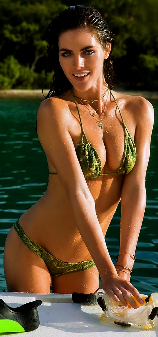 Hilary rhoda bikini