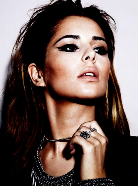 CHERYL COLE at Simon Emmett Photoshoot