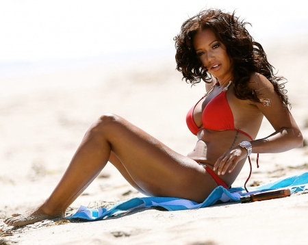 melanie-brown-in-red-bikini-in-malibu-463946307
