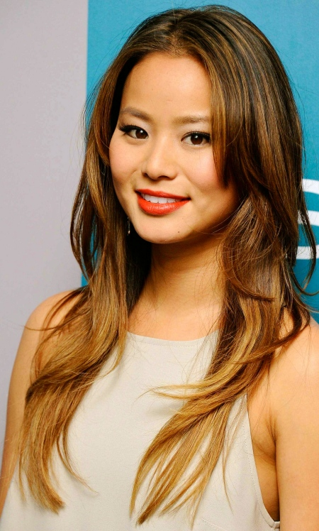 Jamie Chung @ Golden Globe Awards Warner Bros InStyle