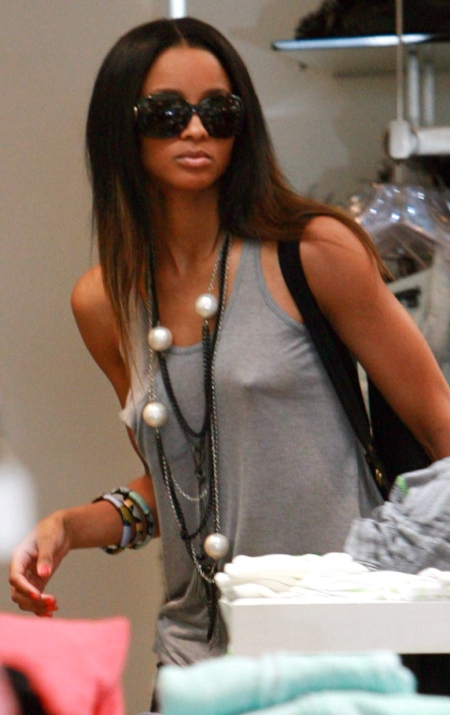 Ciara out shopping at Kitson Boutique in Los Angeles. Pictured: Ciara Ref: SPL107908 240609 Picture by: AnT / Splash News Splash News and Pictures Los Angeles: 310-821-2666 New York: 212-619-2666 London: 870-934-2666 photodesk@splashnews.com