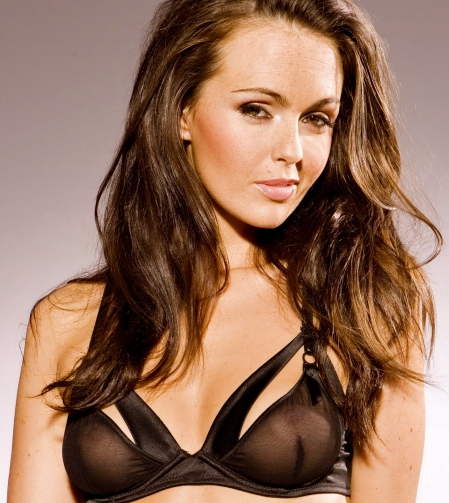 Jennifer Metcalfe see through lingerie photoshoot 5