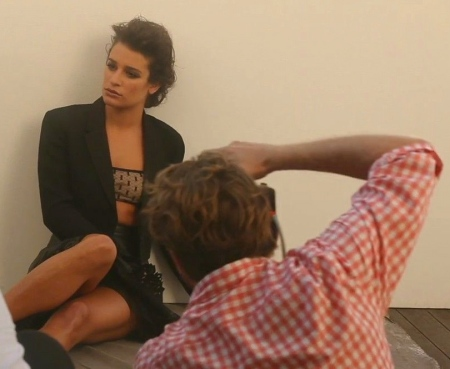 Lea Michele in Marie Claire -07